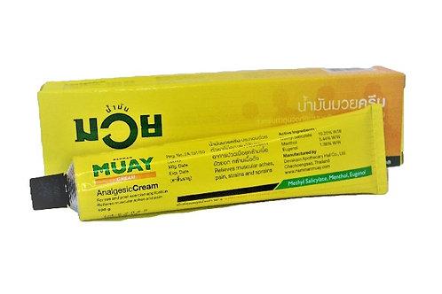 Обезболивающий разогревающий тайский крем Muay