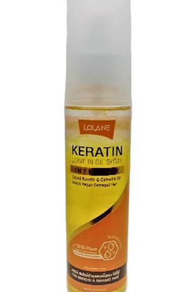 Спрей для восстановления волос с Кератином Lolane Keratine Leave in Oil Spray, 1