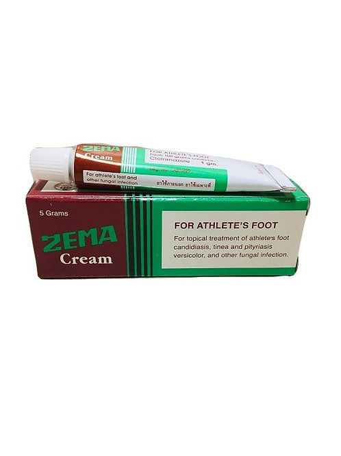 Мазь от грибка и дерматитов ZEMA CREAM 5 гр/ZEMA CREAM Athlete's foot 5 gr