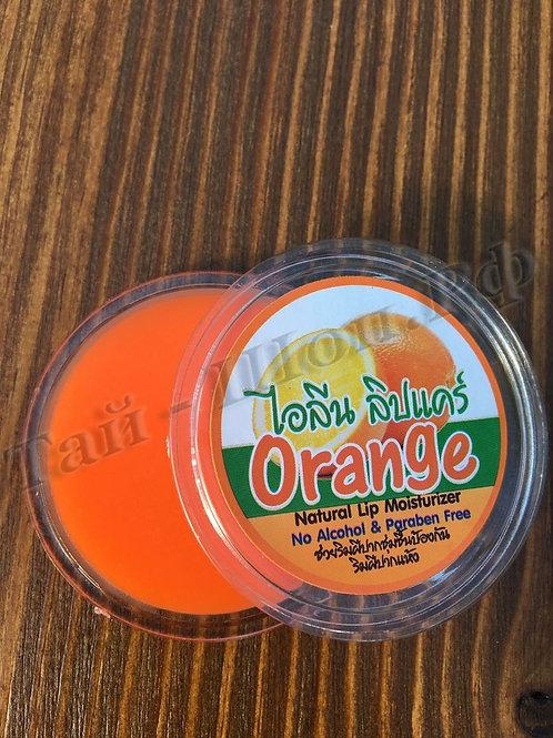 Натуральный бальзам для губ Айлин с апельсином 10 г Ilene Orange Natural Lip