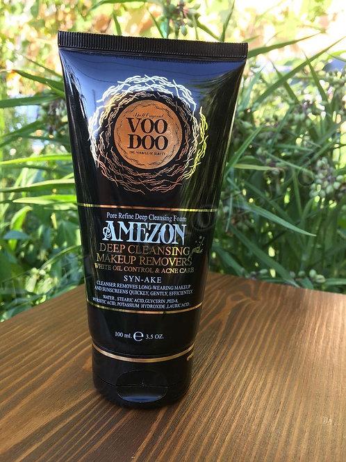 Voodoo Amezon Syn-Ake Deep Cleansing Foam Makeup Remover  Глубоко очищающая пенк
