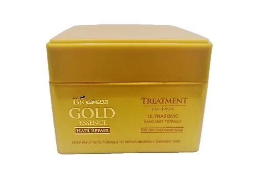 Biowoman Gold Essence Hair Repair Treatment / Маска для сухих и поврежденных вол