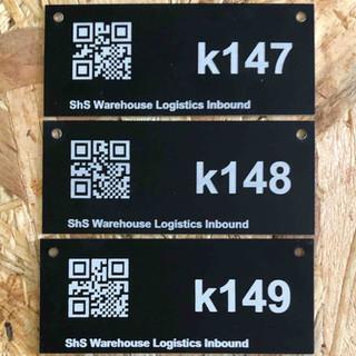Unieke gecodeerde product labels
