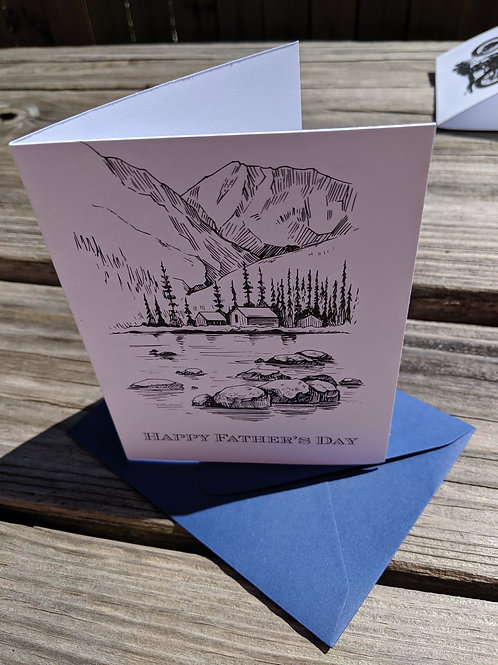 Father's Day Outdoors Card