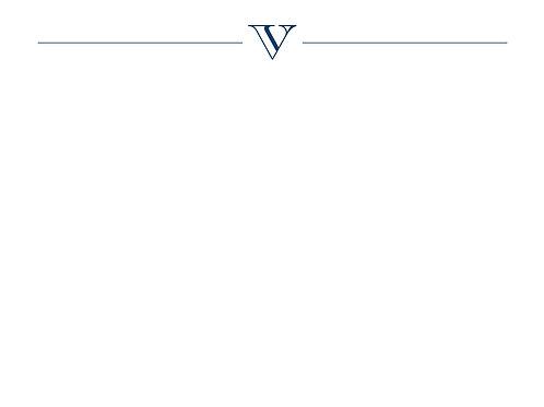 Monogram V Flat Card
