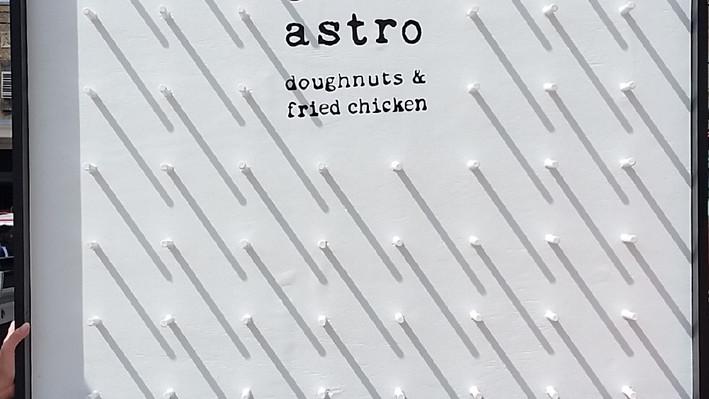 astro doughnut donut wall