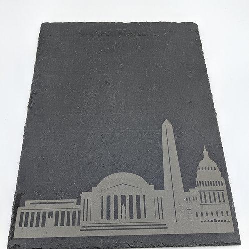 DC Skyline Slate Cheese Board