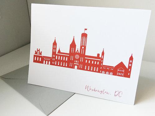 Smithsonian Castle Single Card
