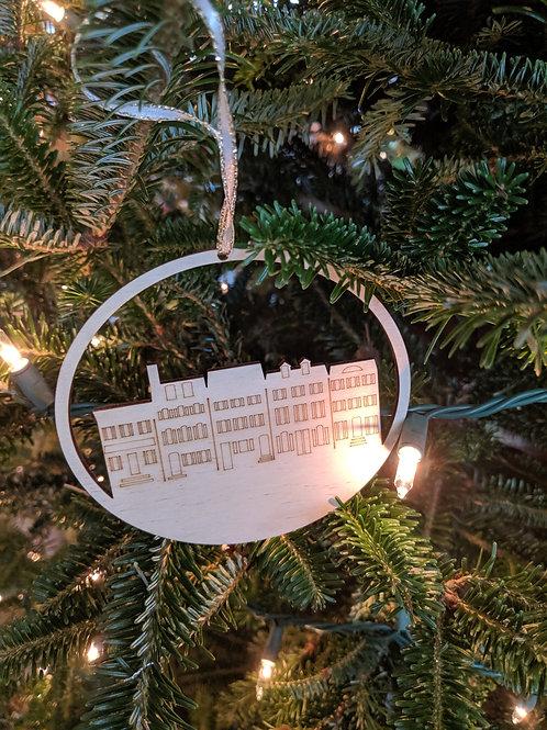 Rowhomes Ornament