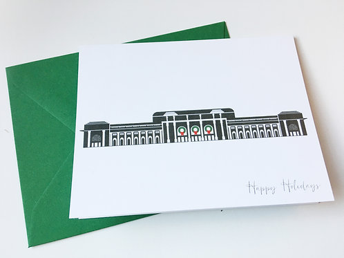 Union Station Holiday Single Card