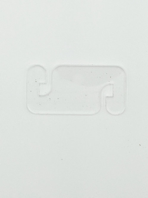 Mask Ear Saver Clear Acrylic Square