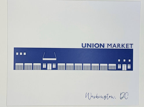 8x10 Print Union Market DC