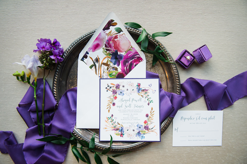 Violet Vision Styled Shoot