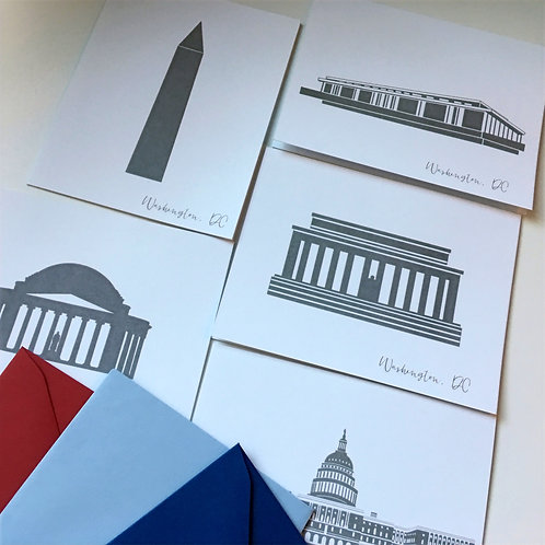 Washington DC Stationery Set