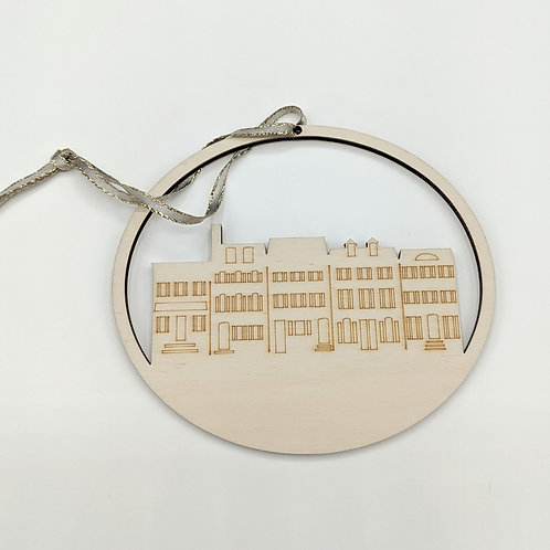 Rowhomes Ornament