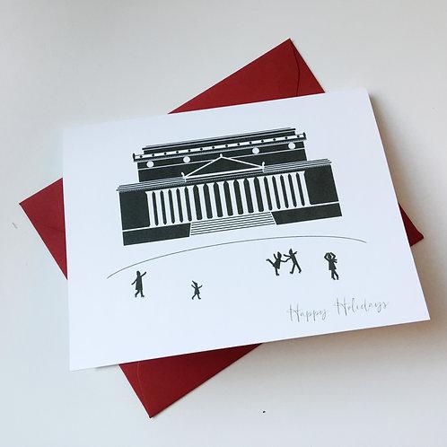 Sculpture Garden Holiday Single Card