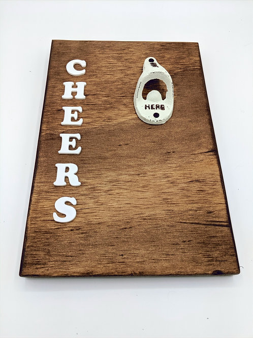 Cheers Wall Beer Opener
