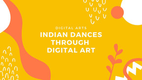 Indian Dances Through Digital Art