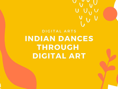 Indian Dances Through Digital Art
