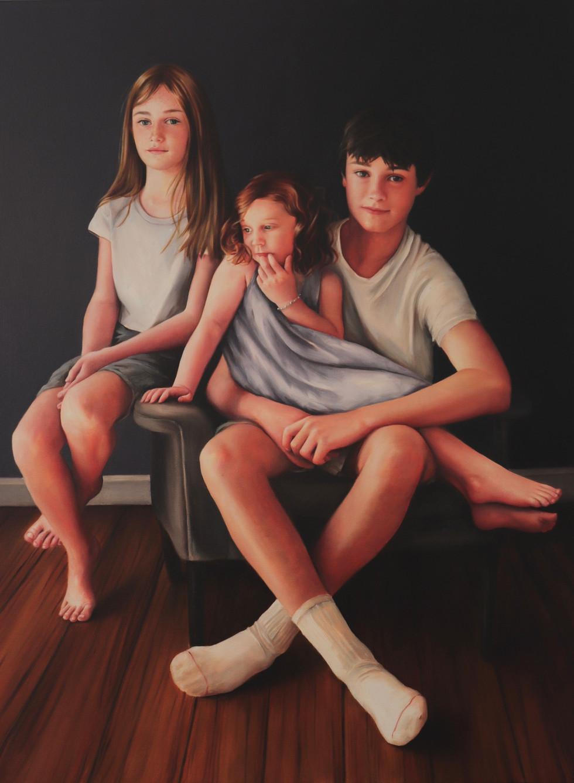 Harry, Sofia and Coco, 2021