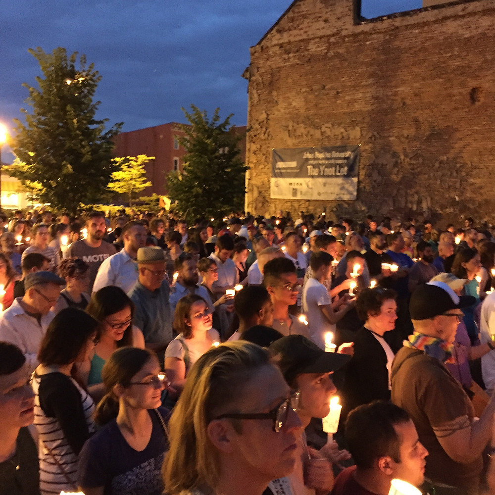 Candlelight Vigil for Orlando, 6/13/16, Baltimore