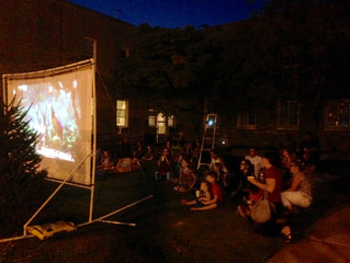 Movies in the Courtyard