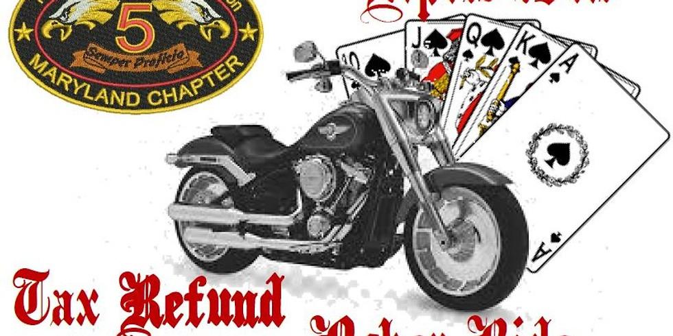 HHFA Fundraiser; MD-5; Tax Refund Poker Ride