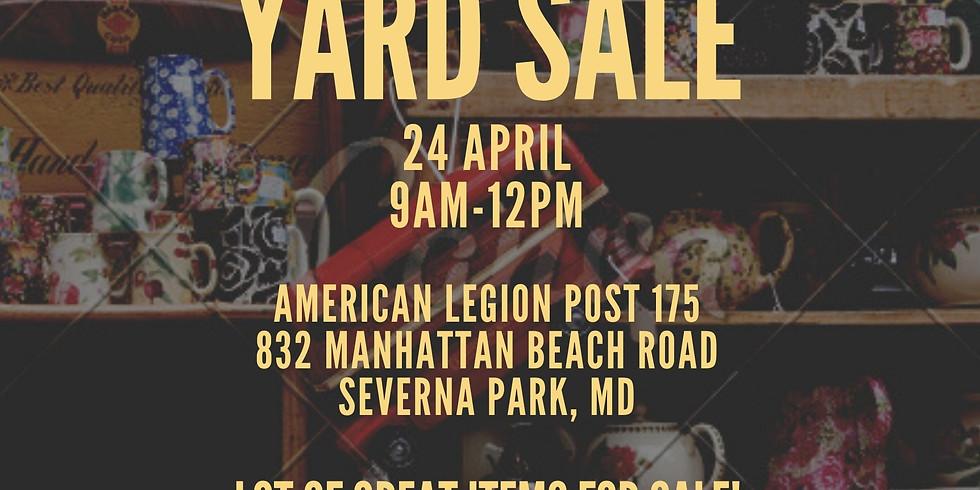 HHFA Fundraiser; MD-5; Community Yard Sale