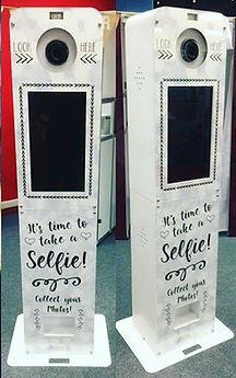 Selfiebooth, Selfie photo booth