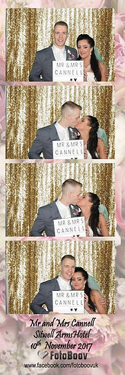 Photo booth hire Sitwel Arms Renishaw