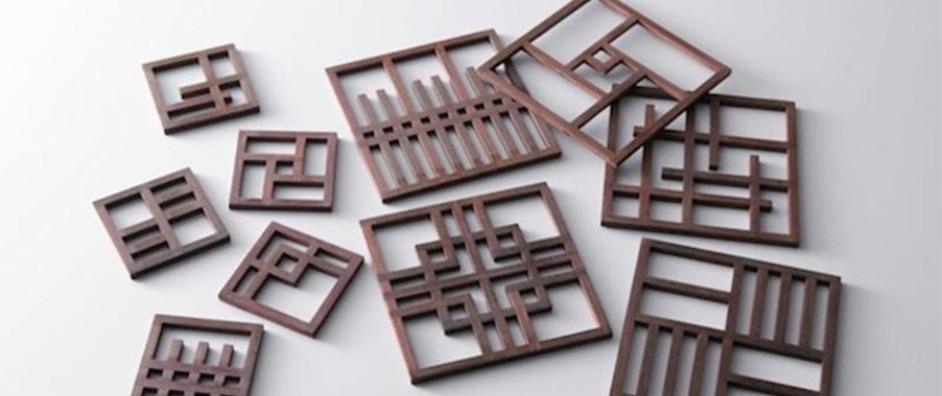 Kyo-machiya coasters & chopstick rests