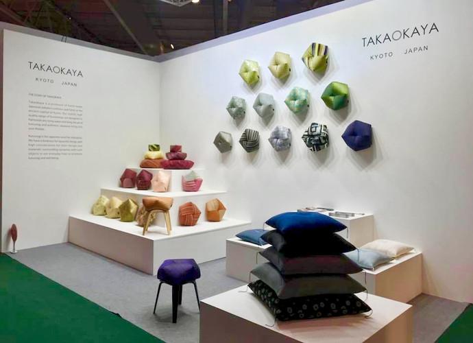 TAKAOKAYA  MAISON&OBJET 新色/ディスプレイ