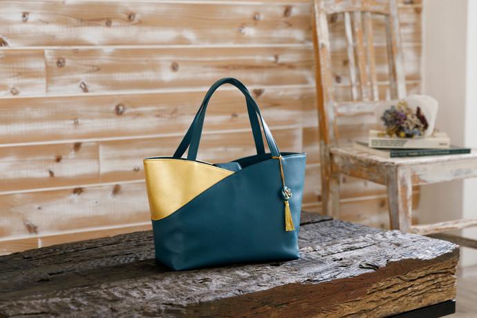 金箔レザーバッグが京都新聞、LINEニュースで紹介されました