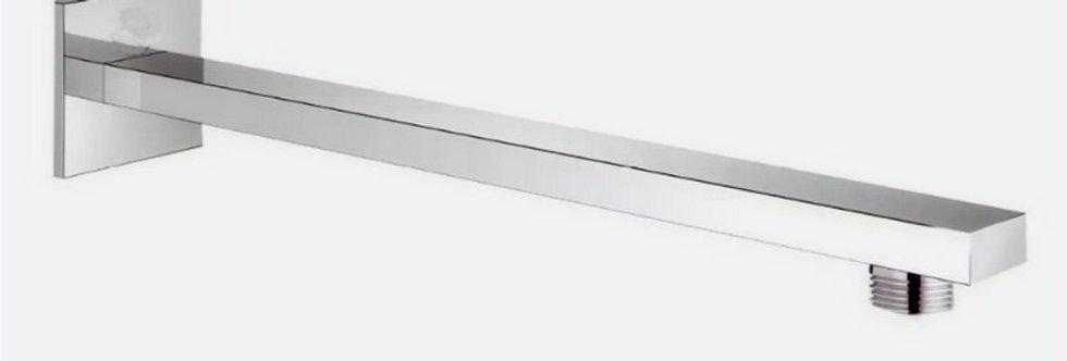 Tubo extensión ducha cuadrado con escudo