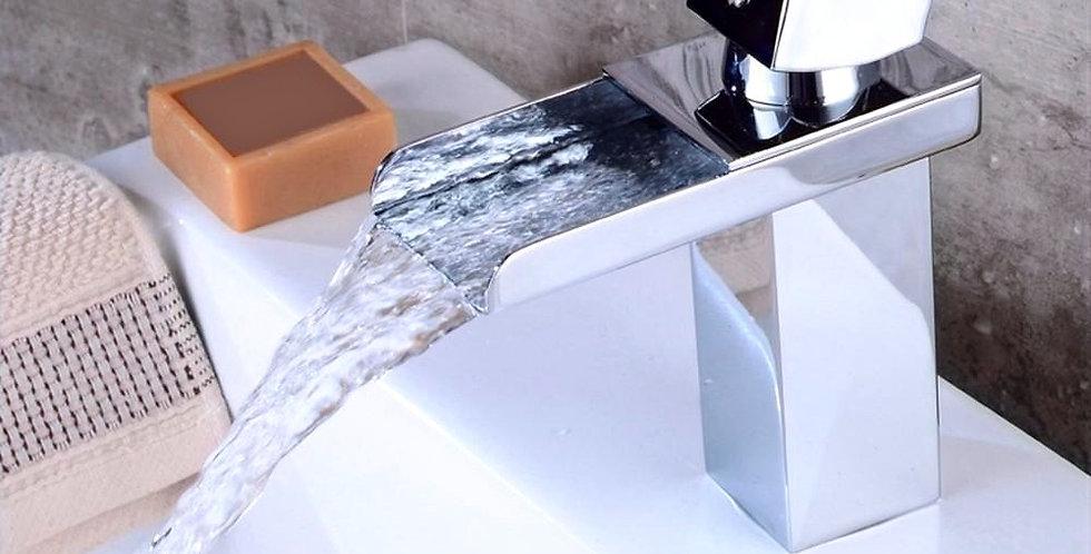 Monocontrol lavamanos cascada cuadrada