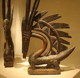 Chiwara Sculpture from Bambara of Mali
