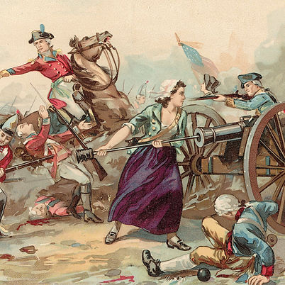 mary-mccauley-fights-in-battle-of-monmou