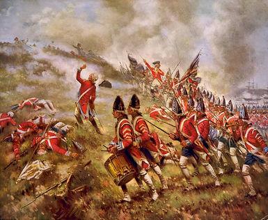 grenadiers-British-painting-Battle-of-Bu