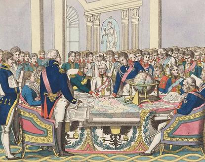 Congress-of-Vienna-watercolour-etching-c