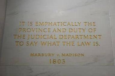 350px-Plaque_of_Marbury_v._Madison_at_SC