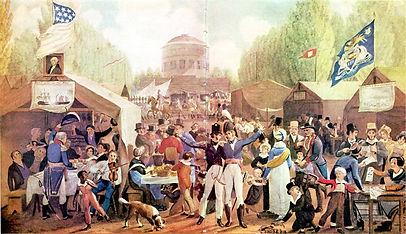 4th-of-July-1819-Philadelphia-John-Lewis