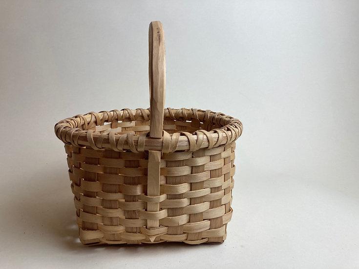 Small Black Ash Gathering Basket
