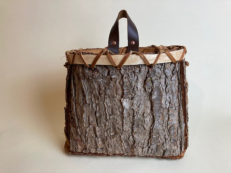 Hemlock Bark Basket