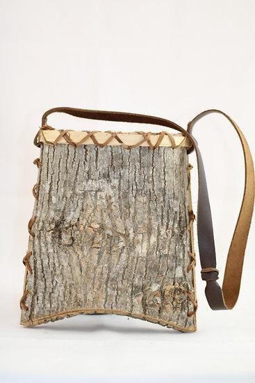 White Ash Bark Basket