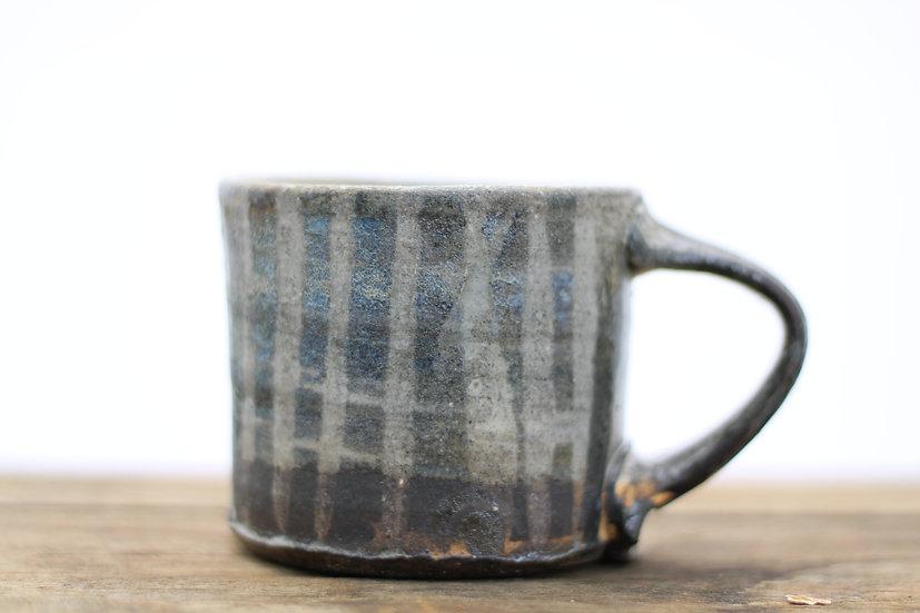 Large glazed mug
