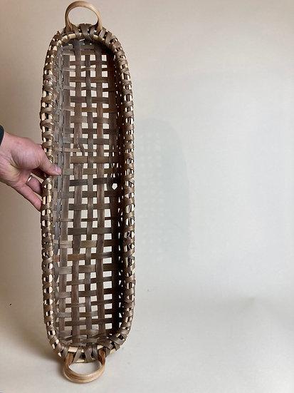 Black Ash Heartwood Table Basket
