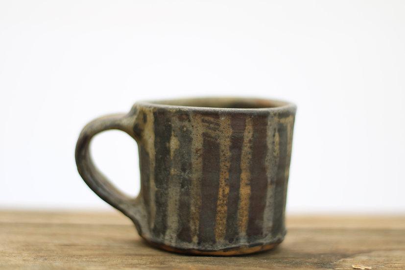 Ash glazed mug