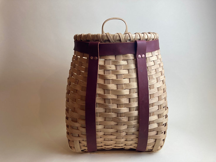 Black Ash Medium Pack Basket