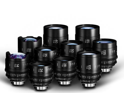 Sigma Cine Prime Set of 10 Lens