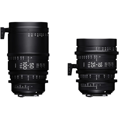 Sigma 18-35mm & 50-100mm T2 Zoom Set
